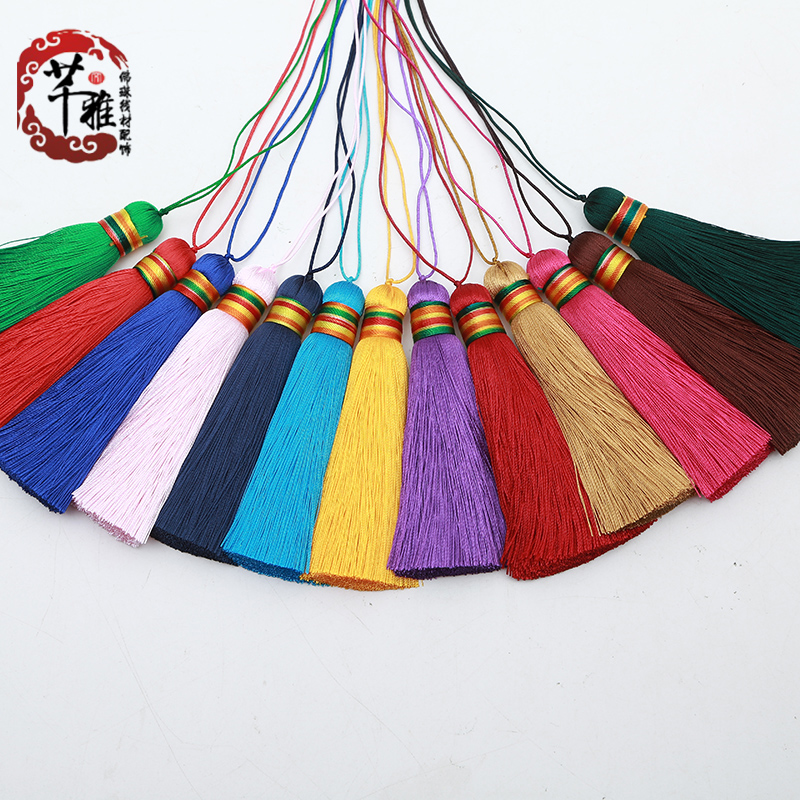 Qian ya color flow su suizi diy handmade tassels hanging pieces to pieces with accessories flow su suizi