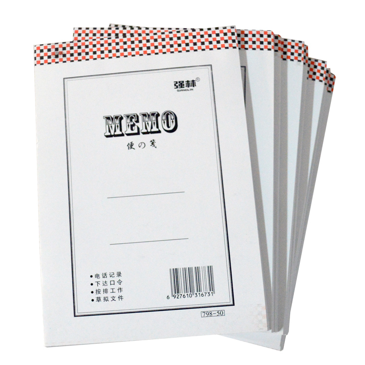 Qiang lin 798-100 notepaper draft of this memo pad note paper office supplies wholesale