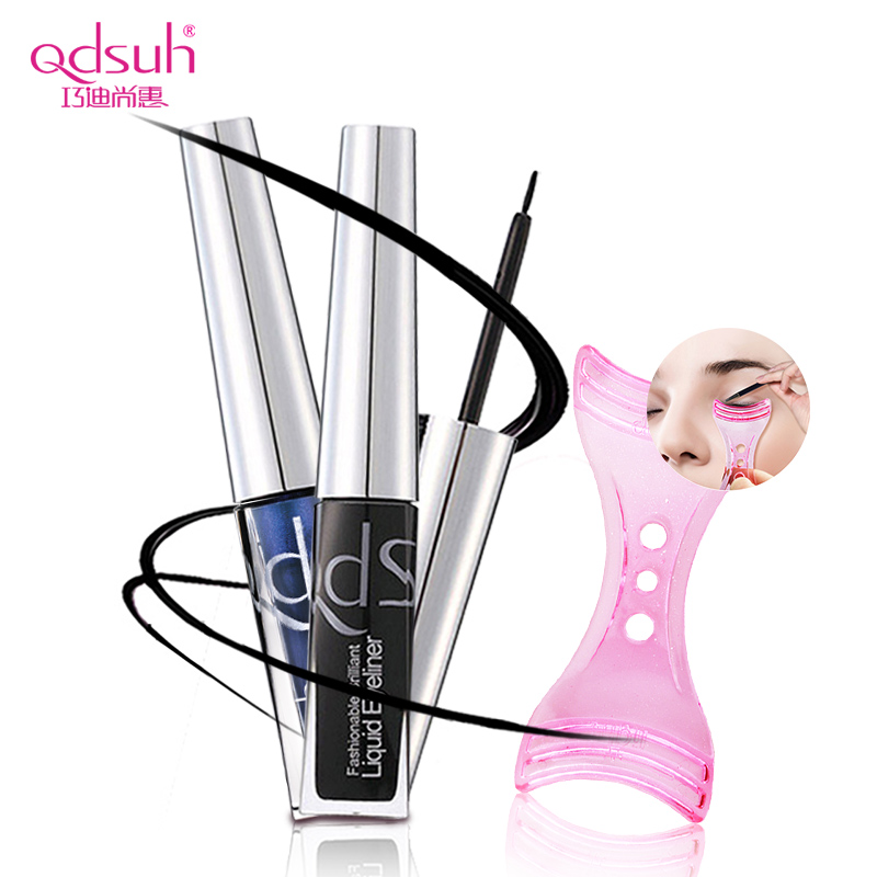 Qiao di shanghui fashion colorful eyeliner very soft head waterproof is not blooming forming a genuine counter