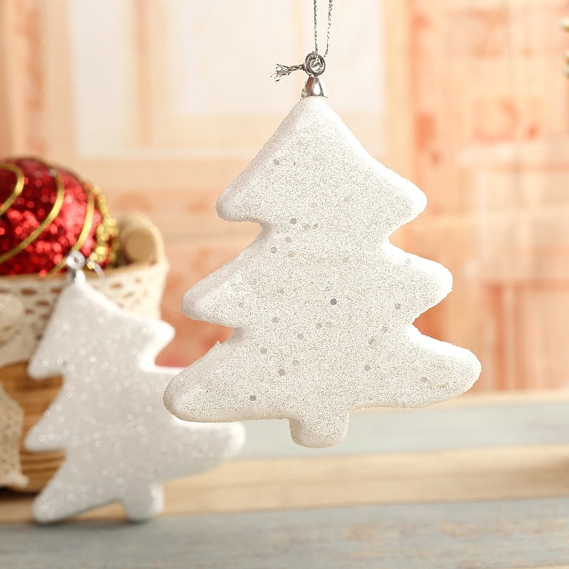 Qixuan christmas decorations christmas snowman snowflake christmas tree ornaments christmas tree decorations christmas supplies