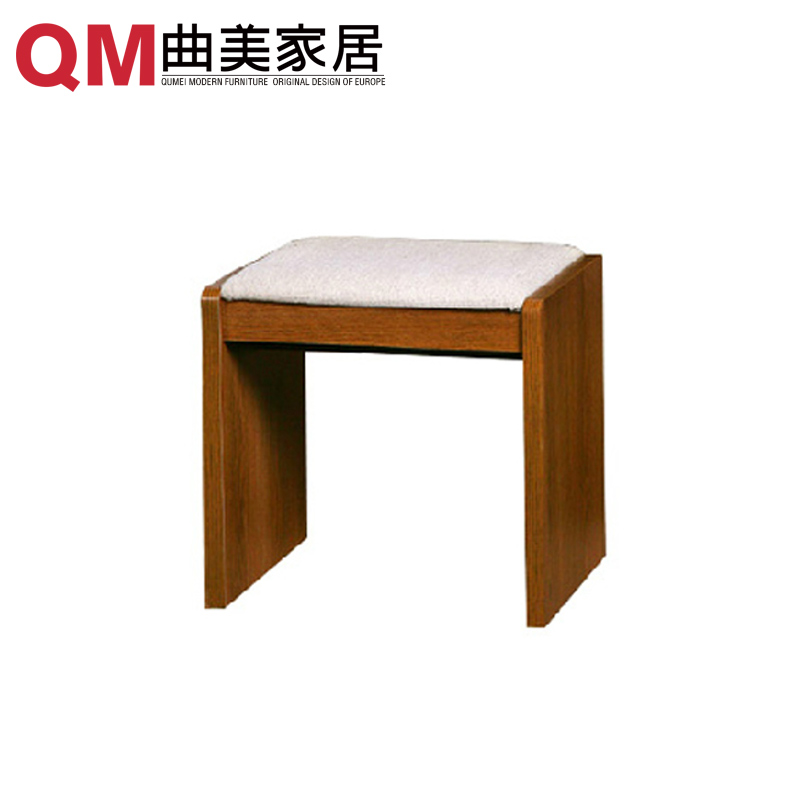 Qu mei furniture home scandinavian minimalist modern green small fangdeng his shoes stool vanity benches