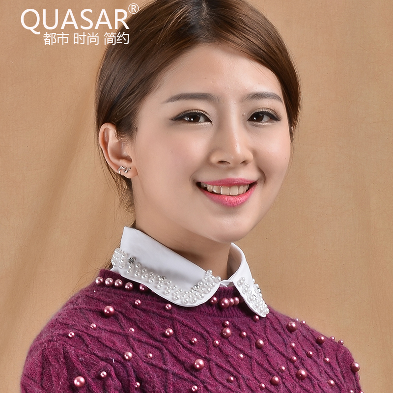 Quasar new spring and autumn korean cotton fake collar false collar shirt collar female autumn and winter hundreds of the ride shirt collar fake