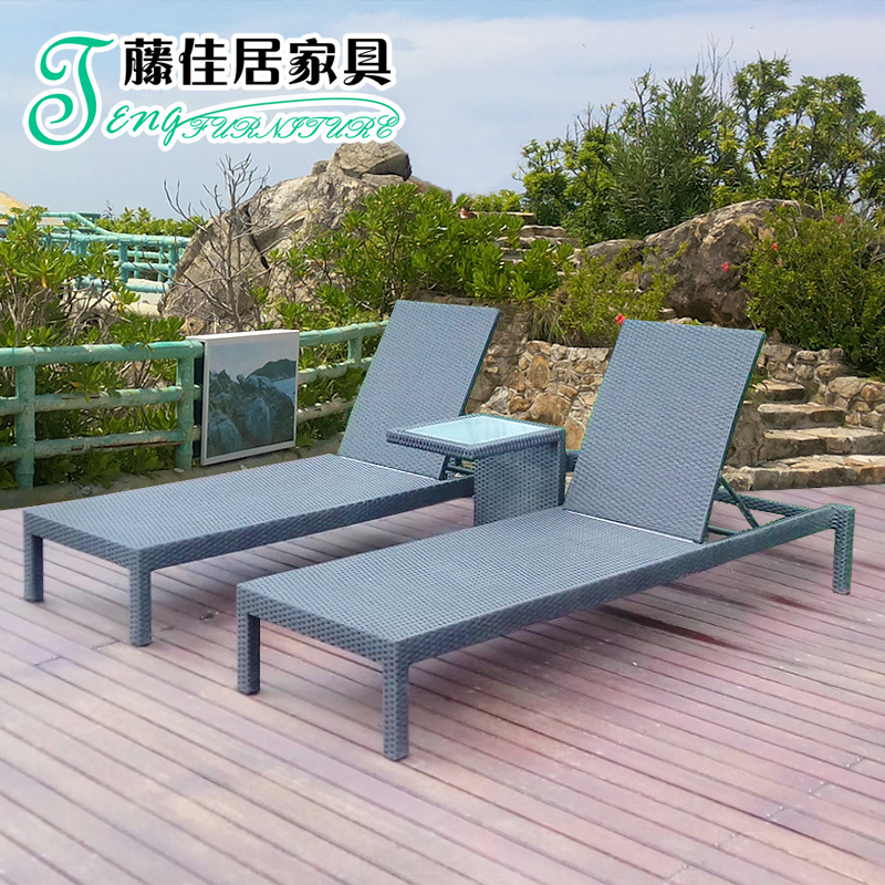 Get Quotations Rattan Outdoor Furniture Lying Bed Pool Leisure Chairs Beach Chair Wicker