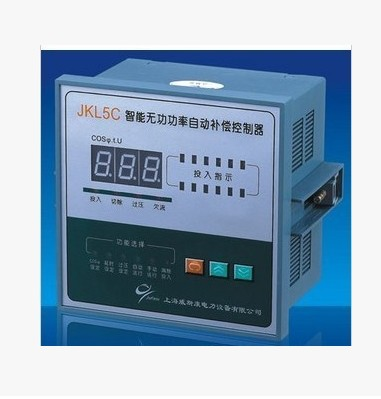 Reactive power automatic compensation controller JKL5C-4.6.8.10.12 road power compensator