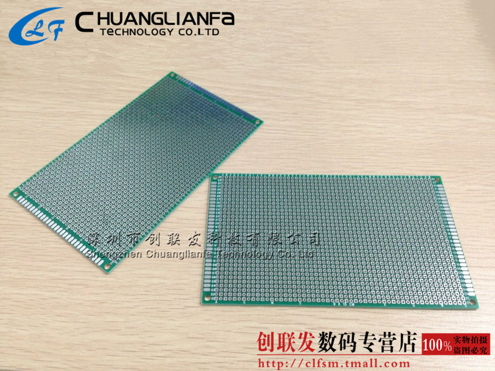 Realplay pcb board sided hasl fiberglass board 9*15 cm 6mm thick breadboard