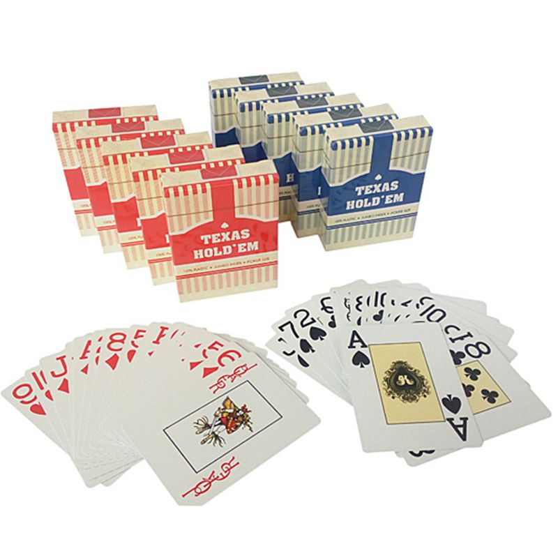 Recreation ordinary standard poker poker tour poker texas hold'em poker frosted plastic waterproof