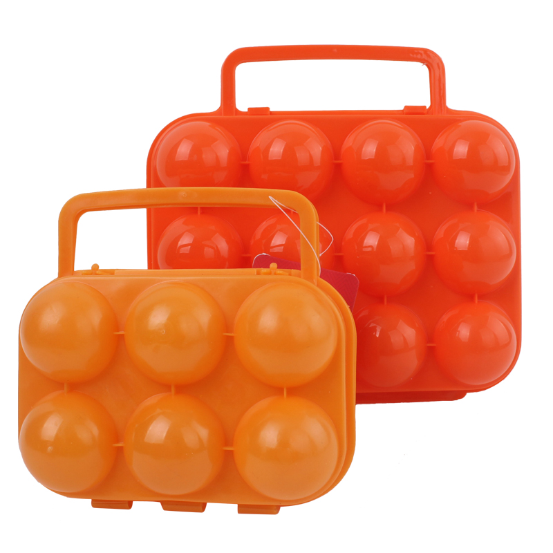 Red camp outdoor picnic outdoor picnic egg cartons egg cartons outdoor portable plastic storage box 12 grid/6 grid