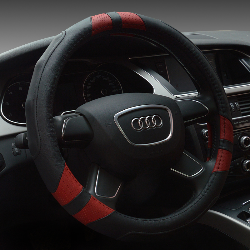 Refit dedicated new C180LC200LC300L benchi perforated leather steering wheel cover four seasons sporty