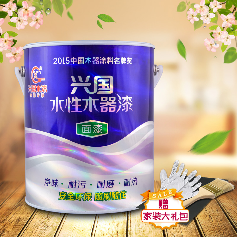 Rejuvenating water based paint lacquer wood varnish transparent finish wood paint wood furniture paint odor paint