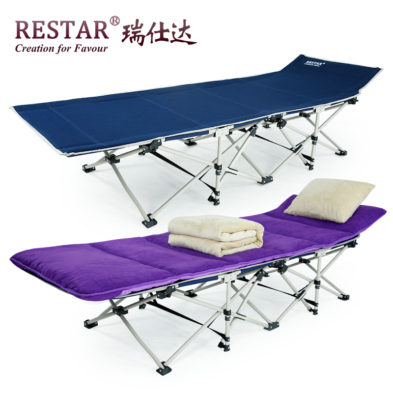 Restar rui shida folding bed siesta nap bed simple bed accompanying bed office four heavy reinforcement section