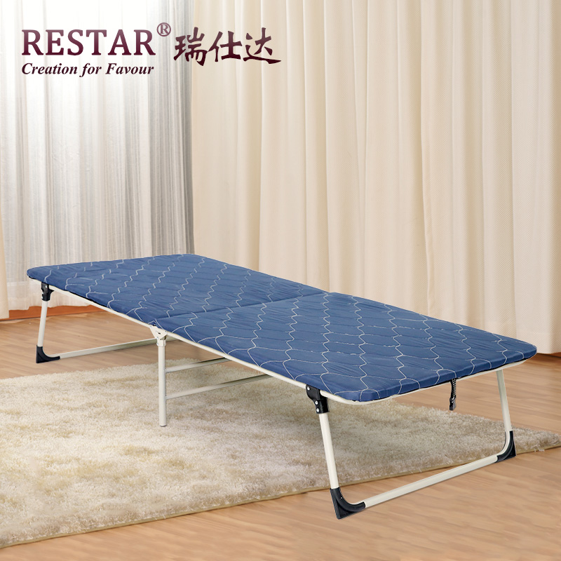 Restar rui shida folding bed wooden bed hardboard wood plate room beds office nap bed siesta bed