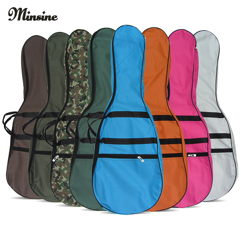 Restricted area shipping authentic color electric guitar package plus thick cotton guitar package 5mm mm thick single carry portable