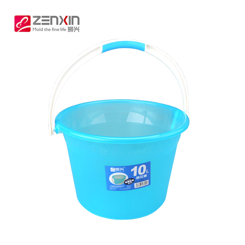 Revitalization of household medium and small bucket bucket storage bucket fishing bucket food grade plastic washing laundry vegetables