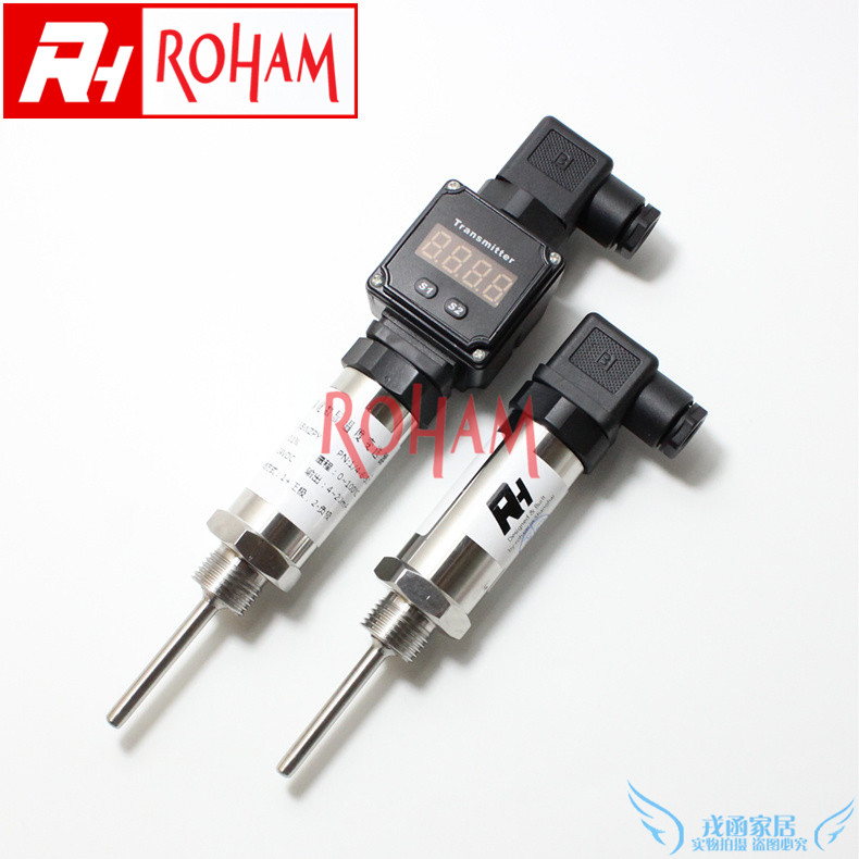 Rh rtd integrated temperature transmitter pt100 digital temperature sensor tube temperature sensor
