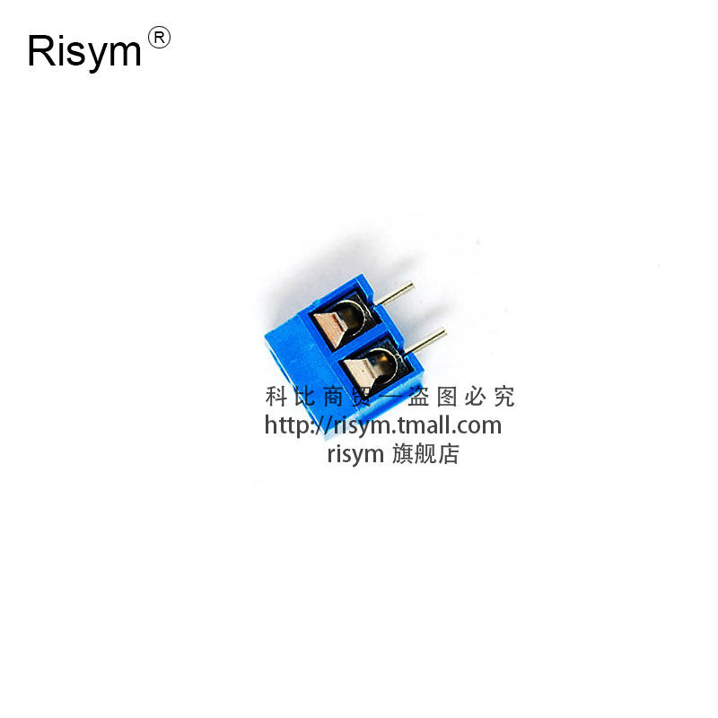 [Risym] kf301-2p/p ~ 8 position terminal pcb terminal 08MM terminals can be spliced 5.44mpa