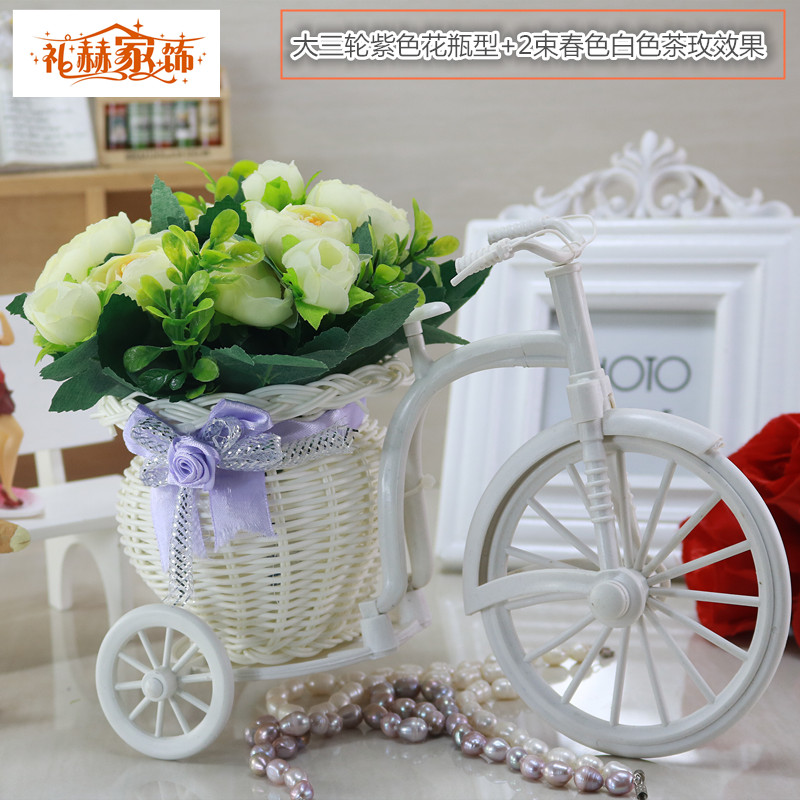 Rose floats simulation suite living room decorative artificial flowers artificial flowers placed flowers silk flower plastic flower floral home accessories ornaments