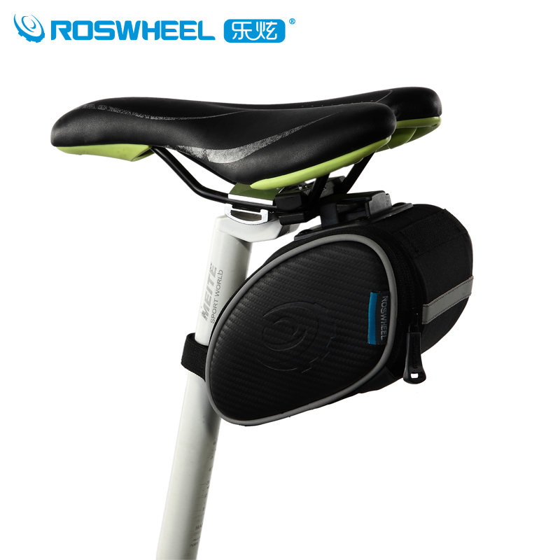 Roswheel le xuan bicycle bike mountain bike saddle bag riding package 13814
