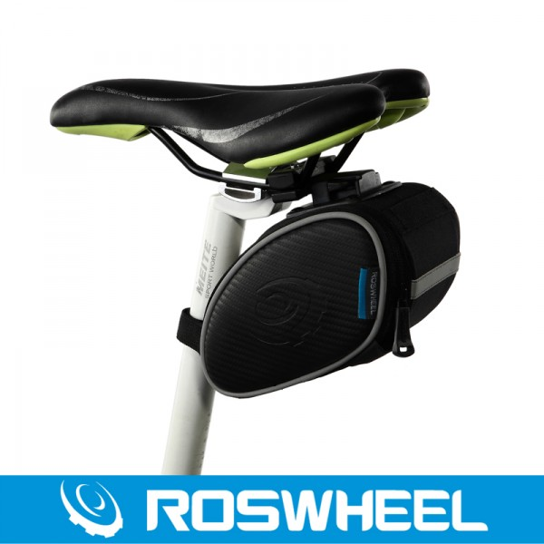 Roswheel le xuan texture series quick release bike riding saddle seat riding equipment riding the tail bag