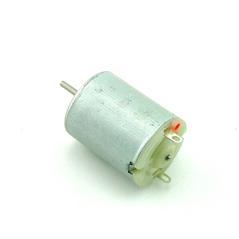 Round dc toy motor diy small production motor toy motor speed to 6 v coin cell spot