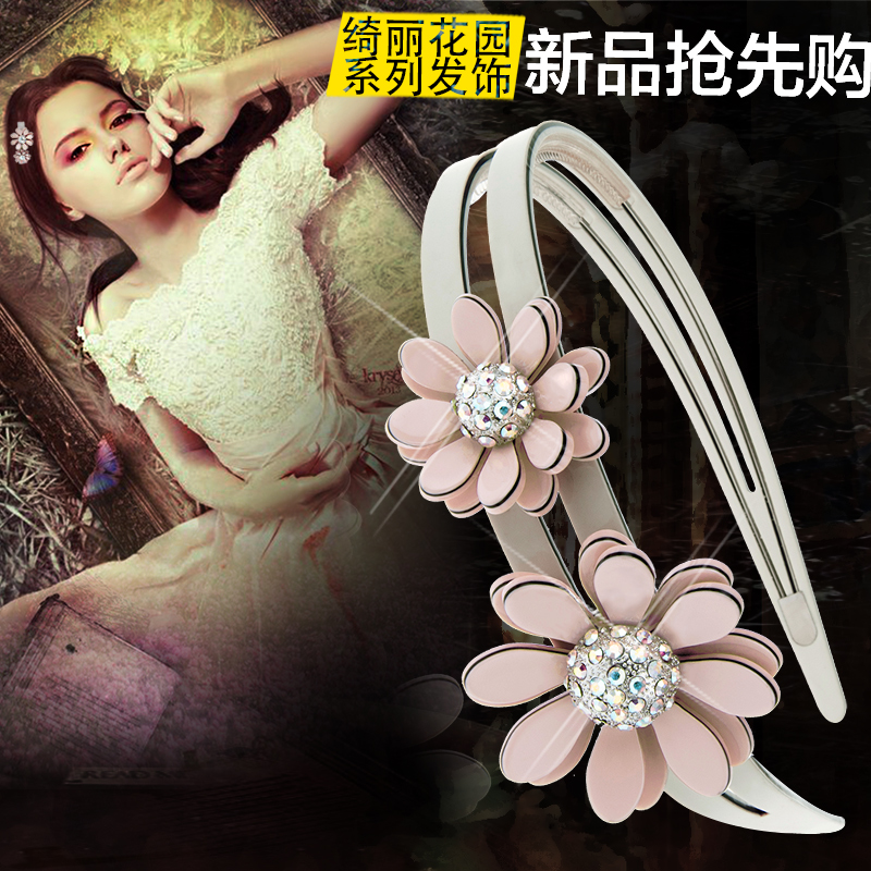 Royal salsa korea headdress hairpin grasping products hollow cross clip ponytail clip hair accessories hair bands hair ring hair caught tuba