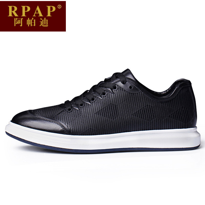 Rpap a paddy new sports and leisure shoes stitching lace round comfort shoes to help low wear and men's outdoor
