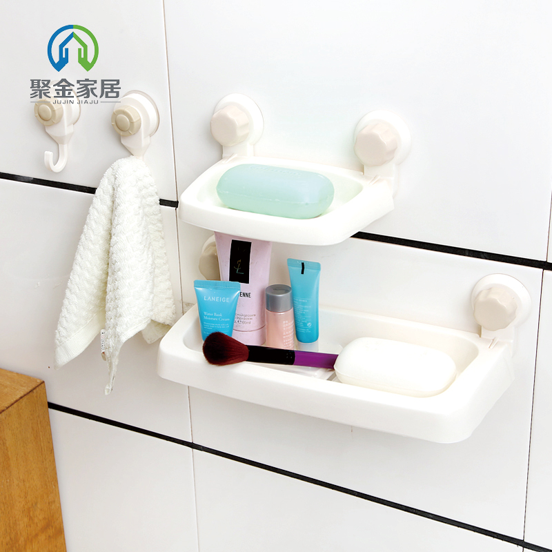 Rubik's cube sucker bathroom shelving racks removable wall suction wall shelf bathroom toilet toilet shelving racks