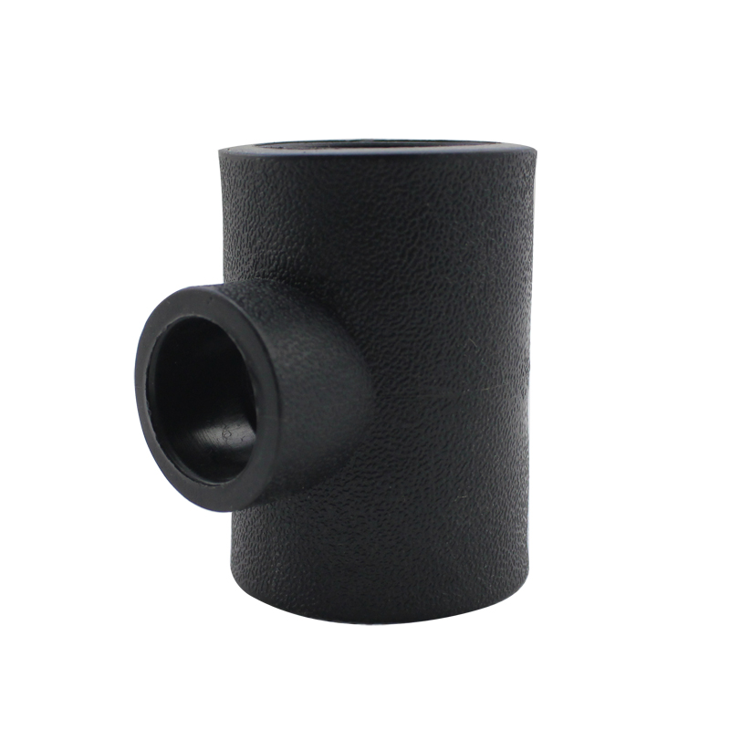 Rui pu pe socket type reducing tee hdpe pipe fittings pe water pipe fittings pe pe water pipe fittings