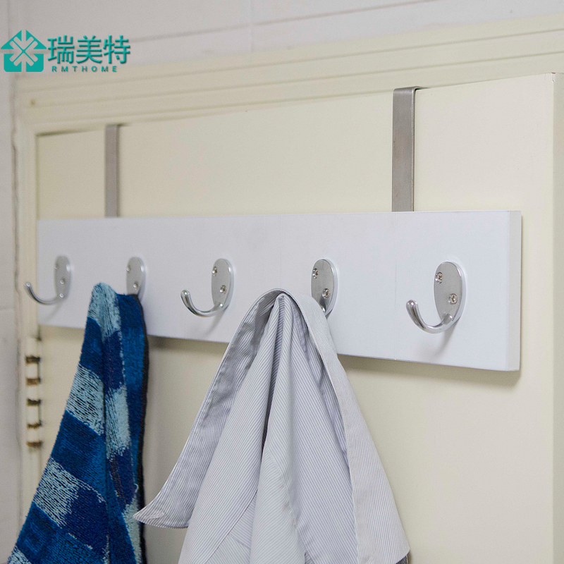 Rui us special creative door hook trace hook after hook coat rack hanging on the wall behind the door coat hooks for hanging clothes hanging clothes rack Aircraft