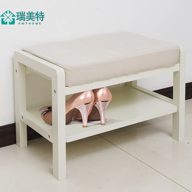 Rui us special modern minimalist shoe storage stool changing his shoes shoe shoes stool stool creative fabric sofa stool stool stool entrance