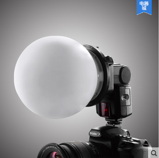 Rui ying k9 flash external flash accessories machine dome light softbox soft ball ball soft ball soft ball