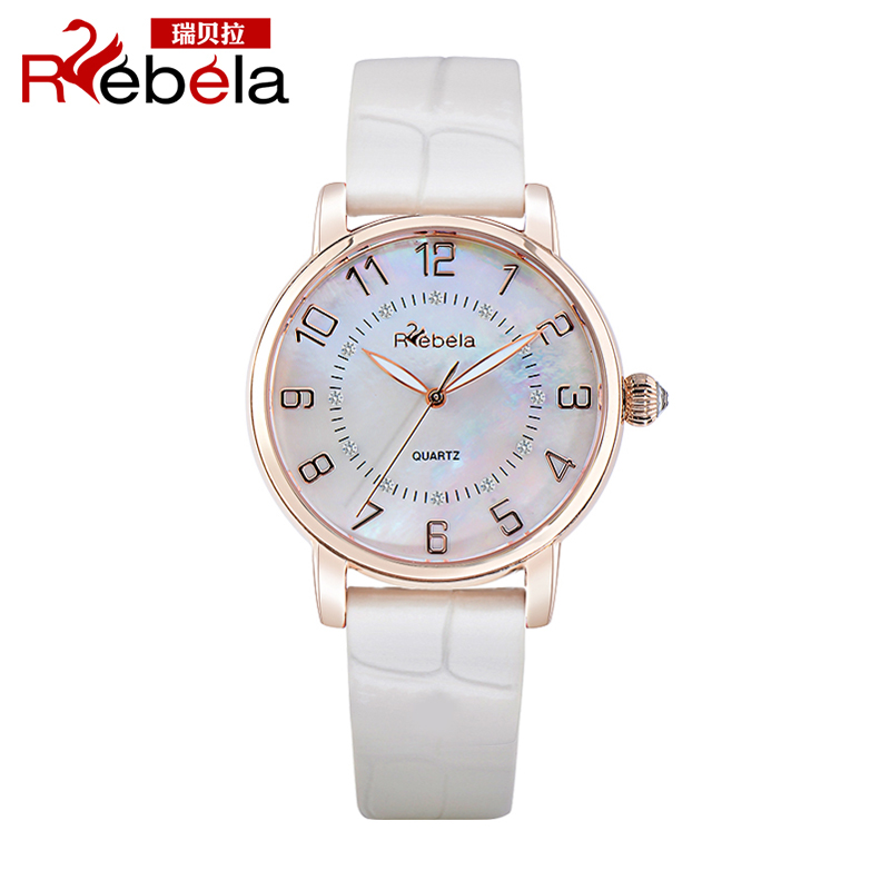 Ruibei la 2015 new authentic thin quartz watch korean fashion female form really belt ladies watches students