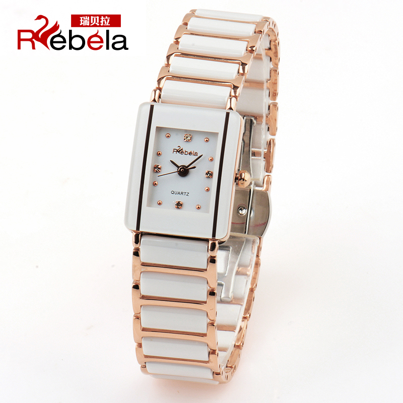 Ruibei la rebela ceramic watches female table quartz watch ladies watches korean fashion female form students
