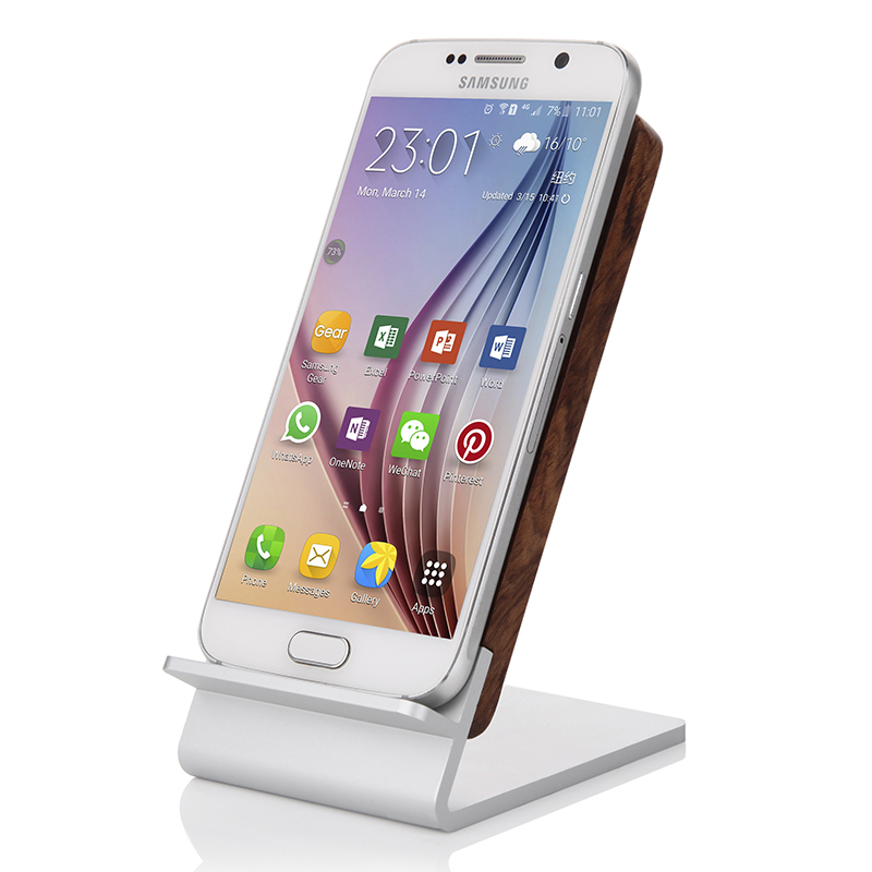 S6 s7 samsung wireless charger samsung phone holder edge/edge +/note5 wireless charging dock