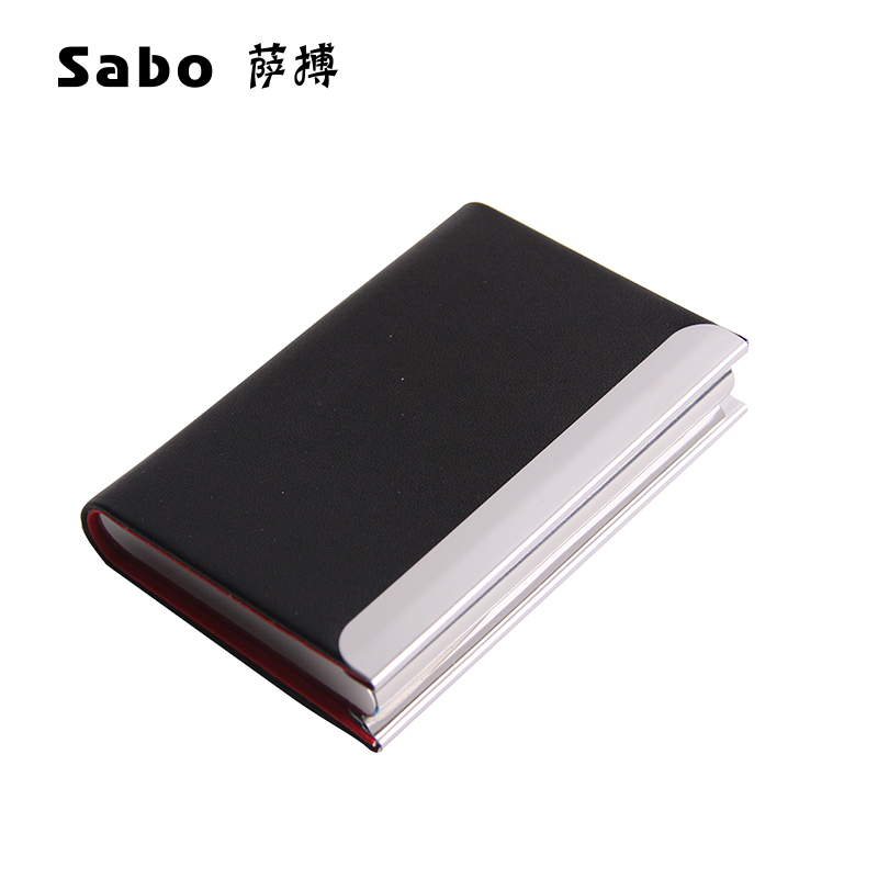 Sa stroke ms. men's business card holder business card holder creative business card holder business card box storage card folder customization
