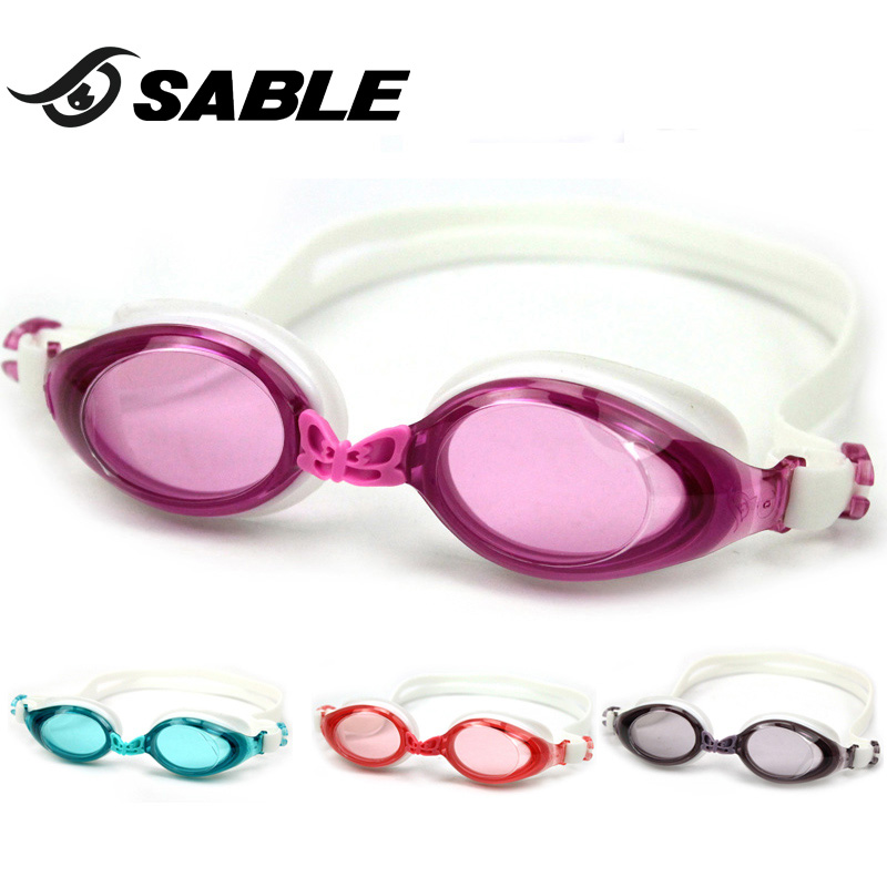 726255a97c Get Quotations · Sable sable shao shunv plain water fog swimming goggles  large frame and comfortable swimming goggles fashion