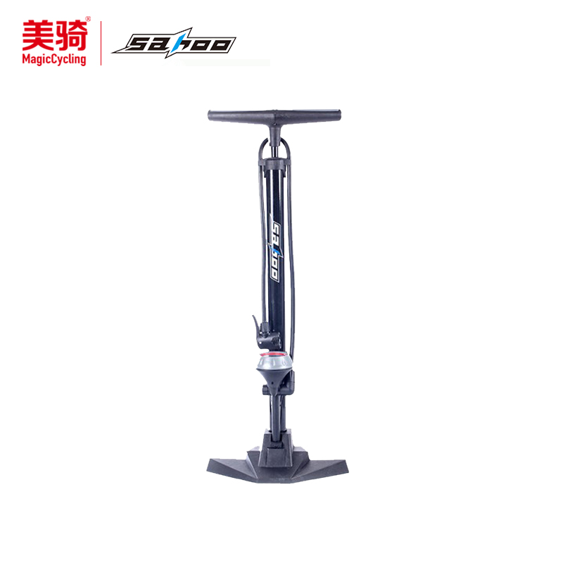 Sahoo bike battery electric vehicles mountain bike road bike dead fly high pressure pump with pressure gauge verticle