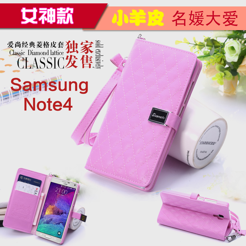 Samsung samsung note4 note4 phone shell mobile phone sets samsung note4 note4 genuine leather protective shell mobile phone sets genuine leather