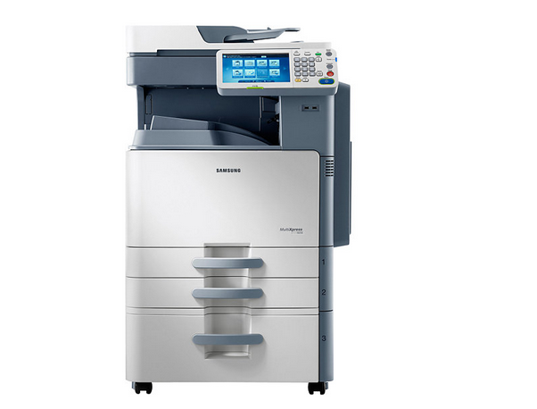 Samsung (samsung) SCX-8240NA composite machine comes standard with a double carton