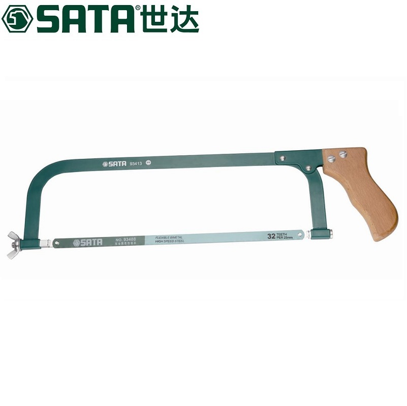 "Sata/cedel wooden handle saw bow 12 ""93413"