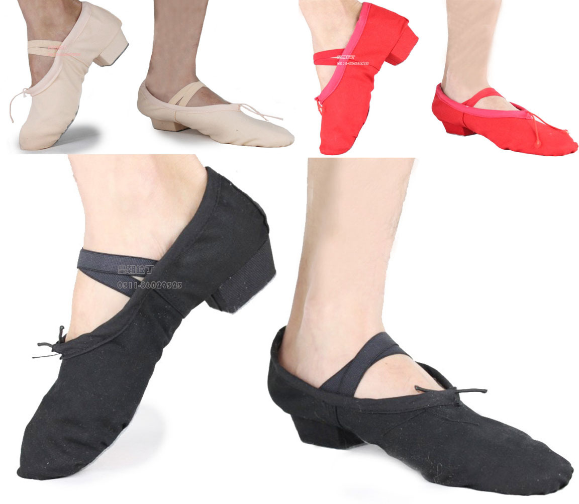 Satesaiwei with ballet dance shoes with soft bottom cat claw yoga dance belly dance teacher practice shoes gymnastics