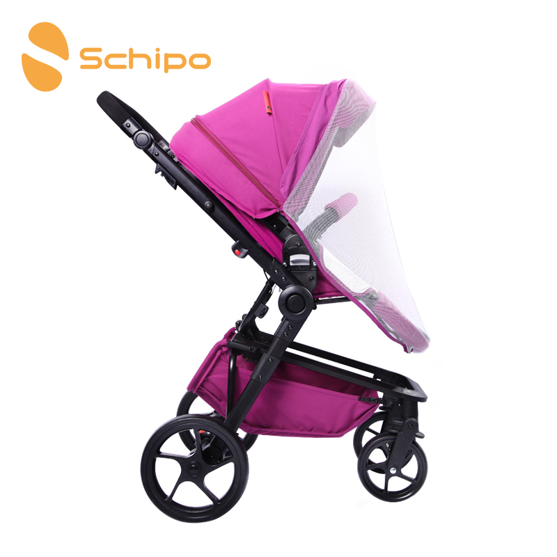 Schipo stroller mosquito nets stroller baby stroller dedicated high density uv mosquito nets accessories