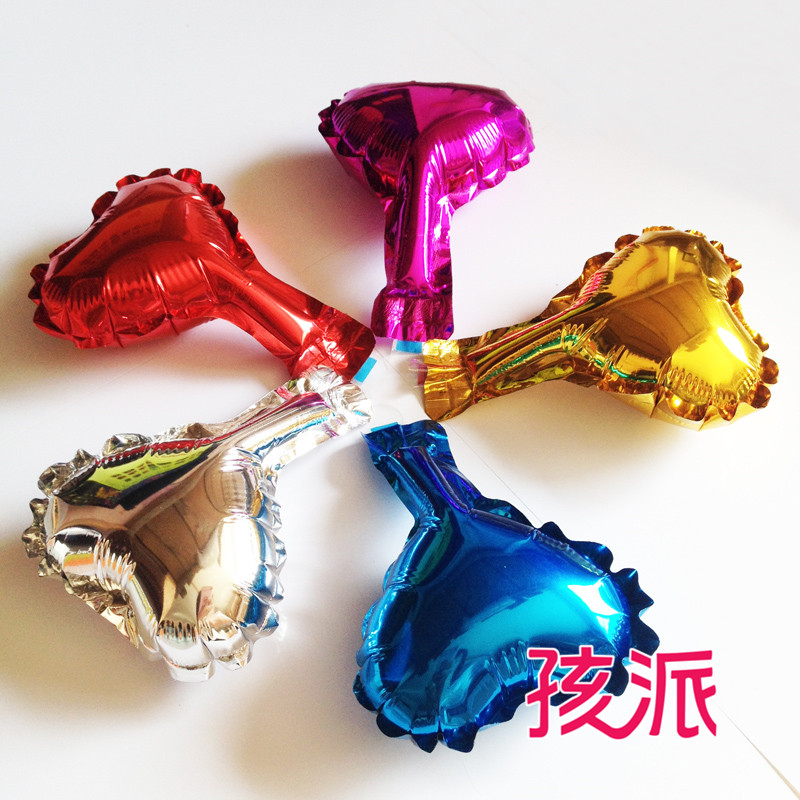 School children decoration supplies 4 cunxin shaped aluminum foil balloons birthday party decoration supplies/1