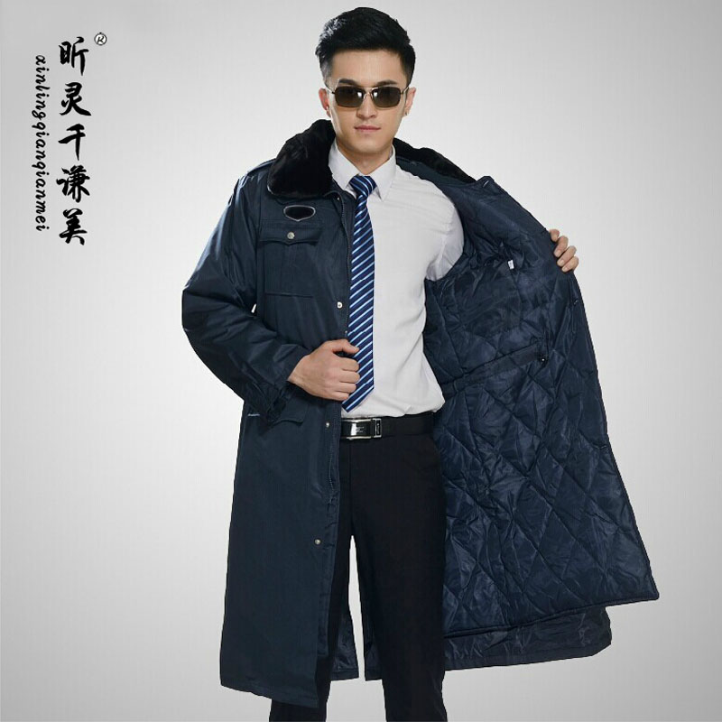 Get Quotations  C2 B7 Security Cotton Coat Winter Clothes Security Uniforms Winter Coat Thicker Multifunction Security Security Security Clothing Coat