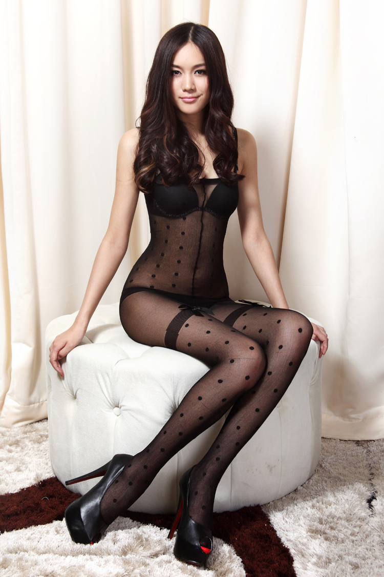 lingerie Sexy black stockings women