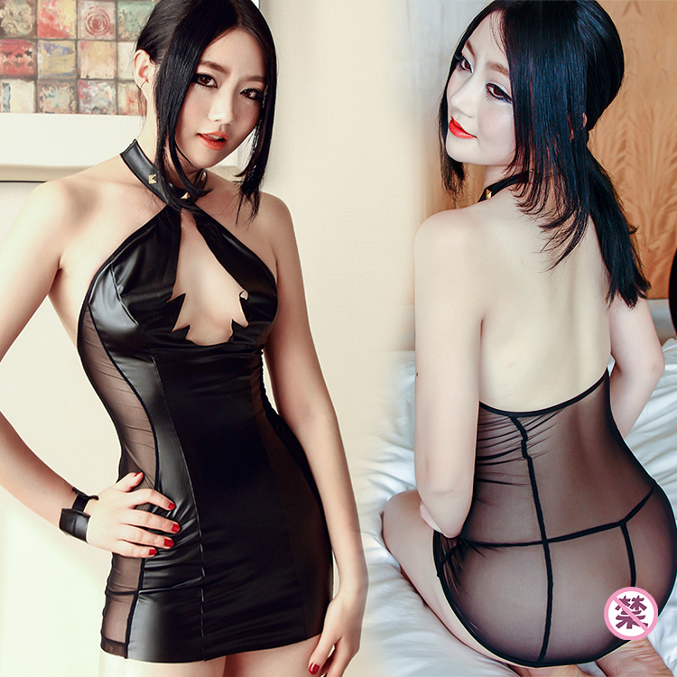 Selebritee nightclub costumes stage clothes sexy lingerie sexy uniforms ladies hanging neck skirt costumes