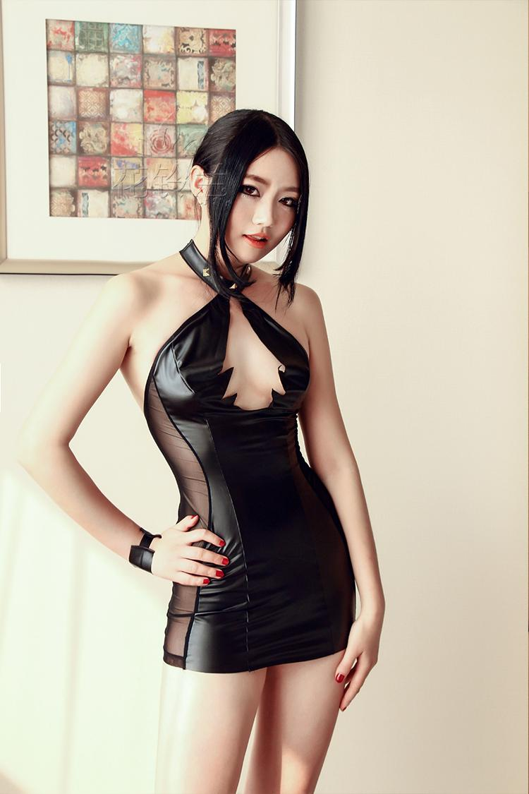 Selebritee nightclub package hip halter dress women sexy lingerie suit uniforms contains adult sm sao