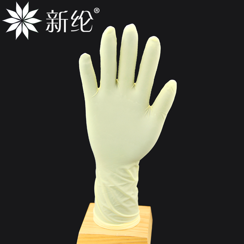 Selen 12 inch long thousand grade natural latex industrial labor protective waterproof rubber gloves for household washing