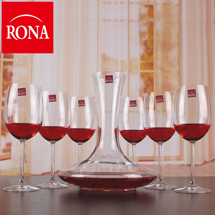 Send cupholders rona czech import/lorna unleaded crystal wine glass wine goblet suit