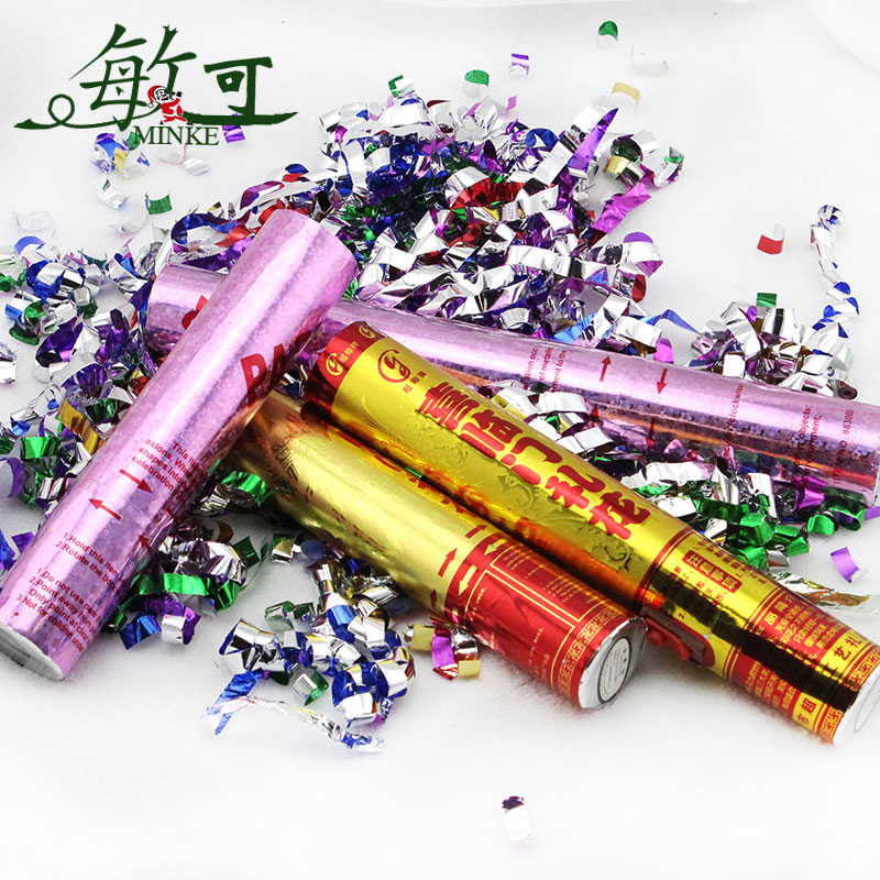Sensitive to the special wedding wedding supplies wedding color handheld fireworks cannon barrel rotation boutique wedding salute