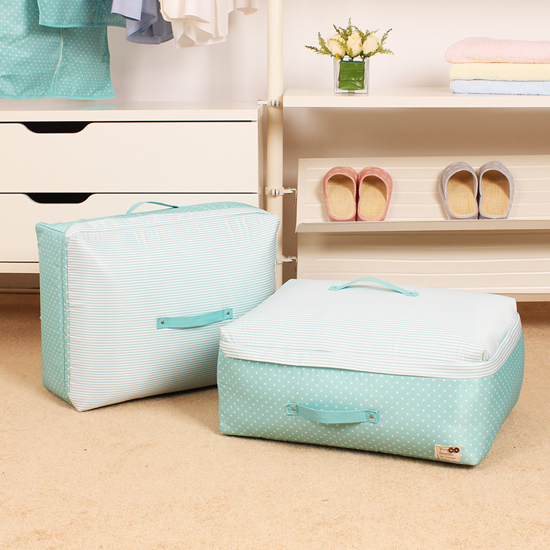 Seven show pouch bag large trumpet washable quilt storage box storage box clothes sorting boxes of clothing storage bags thicker